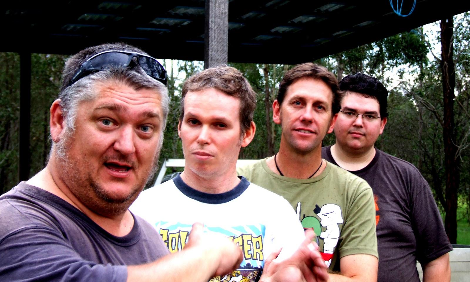 WEEZAL, 4 guys with a beer fridge